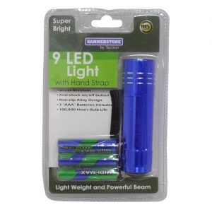 Flashlight 9 Led Light Heavy Duty