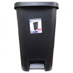 Sterilite Wastebasket 11.9 Gl Blk StepOn