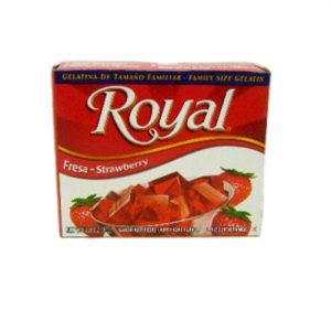 Royal Gelatin 2.8oz Strawberry