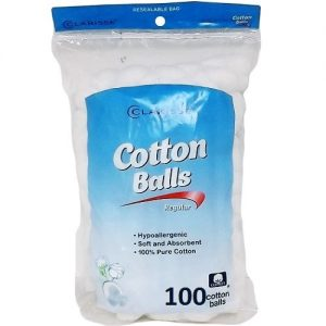 Clarisse Cotton Balls 100ct Triple Size