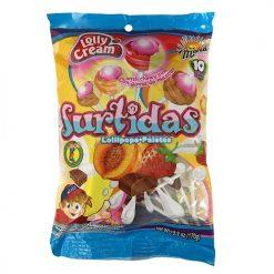 Mara Lolly Cream Surtidas Lollipops 10ct