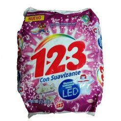 1-2-3 Detergent 900gr Suavidad  Y Jazmim
