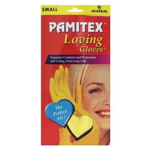 Pamitex H-H Ylw Gloves Sml Box