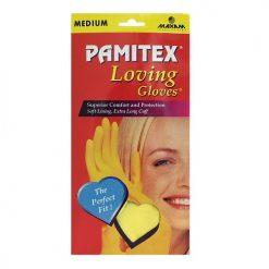 Pamitex H-H Ylw Gloves Md Box