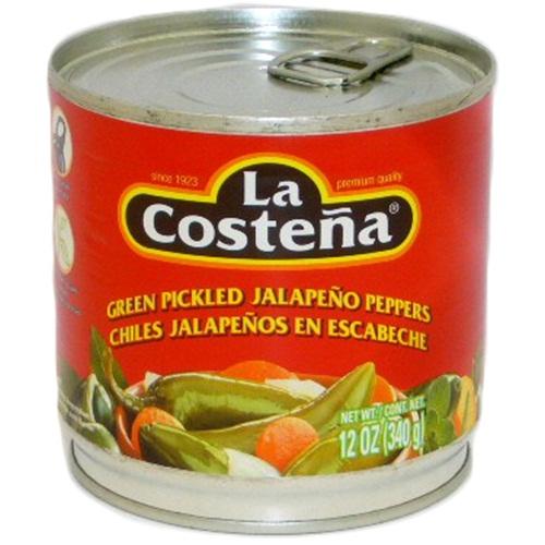 La Coste?a Jalape?os 12oz Whole