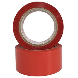 Sealing Tape Red 1.89in X 100 Yrds