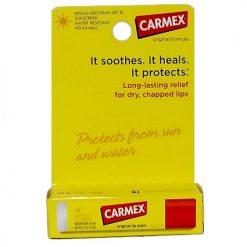 Carmex Lip Balm .15oz Original Medicated