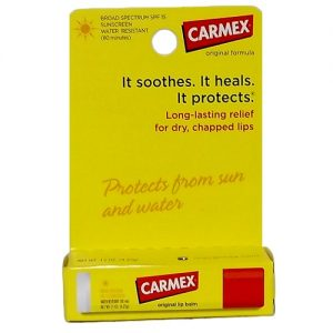 Carmex Lip Balm .15oz Original Medicated