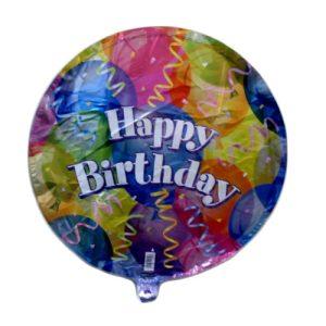 Unique Foil Balloon B-Day Jubilee 18in