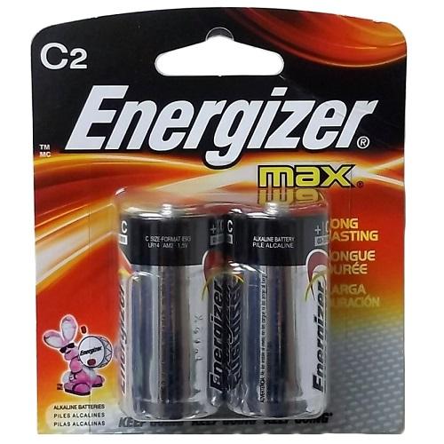 Energizer Max Batteries C 2pk
