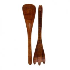 ***Wood Spoon AND Fork Set