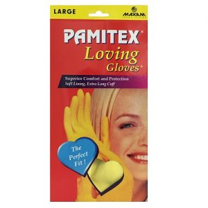 Pamitex H-H Ylw Gloves Lg Box