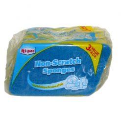Ri-Pac Non-Scratch Sponges 3pk