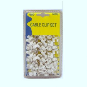 Cable Clips Sets 8mm