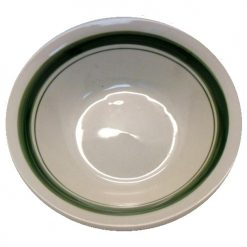 Bowl 7in Banded Asst Clrs