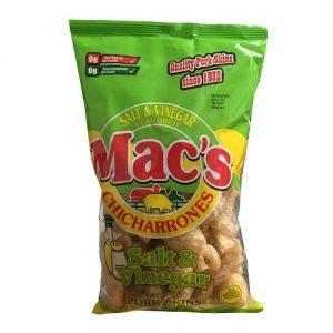 Macs Pork Skins 3oz Salt AND Vinegar