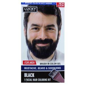 Lucky For Men Brush In Gel Black