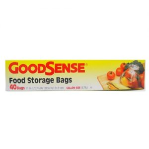 G.S Food Storage Bags 40ct Gallon Size
