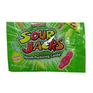 ***Sour Jacks Sour Candy 0.9oz Original