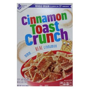 G.M Cinnamon Toast Crunch Cereal 12oz