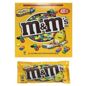 M AND M P-Nut Choc Candies 1.74oz