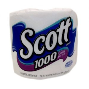 Scott Bath Tissue 1pk 1000 Sheets