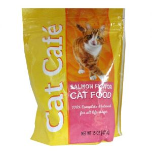 Cat Cafe Cat Food Salmon 17oz