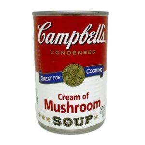 Campbells Cream Of Mushroom Soup 10?