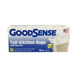 G.S Tall Kitchen Bags 12ct 13 Gl Lemon S