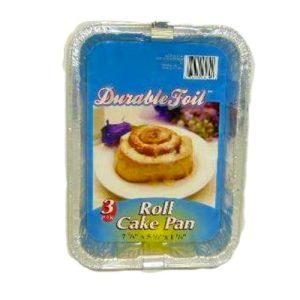 D. Foil Roll Cake Pan 3pc