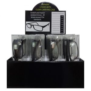 Reading Glasses Black Asst