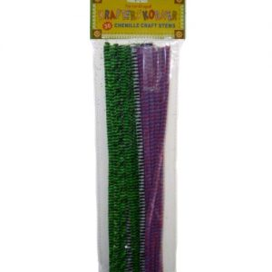 Chenille Craft Stems 30ct Asst