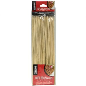 Bambo B.B.Q Skewers 100ct 11.8in