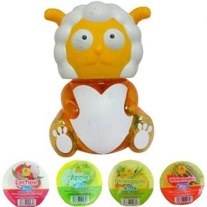Fruit Jelly Sheep Coin Bank Asst Flvrs