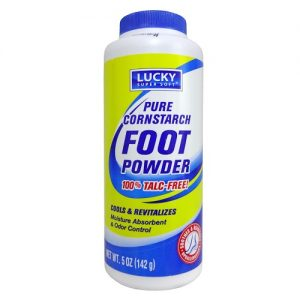 Lucky Cornstarch Foot Powder 5oz