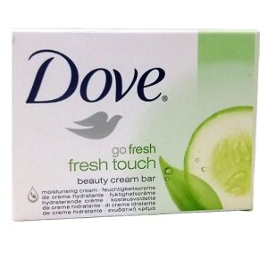 Dove Bath Soap 4.25oz Fresh Touch 135g
