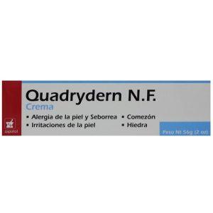 Quadrydern N.F Cream 2oz Skin Allergies