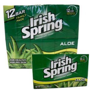 Irish Spring Bath Soap 3.75oz Aloe