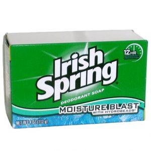 Irish Spring Bath Soap 3.75oz Moisture B