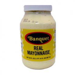 Banquet Real Mayonnaise 30oz