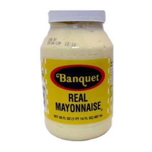 Banquet Real Mayonnaise 30oz