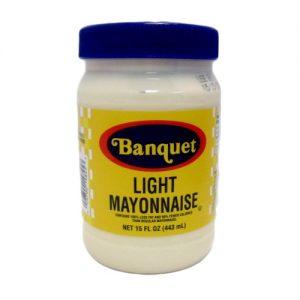 Banquet Mayonnaise 15oz Lght