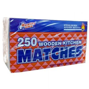 Kitchen Matches 250ct Wooden