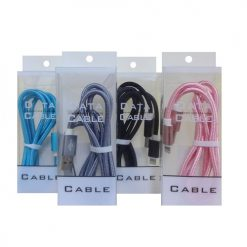 USB Charging Cable Asst Clrs In Box
