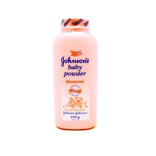 Johnsons Baby Powder 100g Blossoms