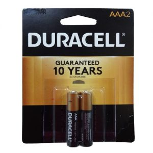 Duracell AAA 2pk Batteries