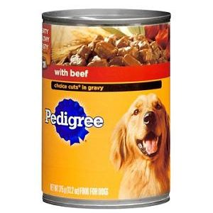 Pedigree 13.2oz With Beef