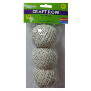 Craft Cotton Rope 3pc 60m