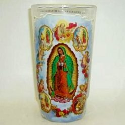 Candles Crystal Virgen Apariciosa