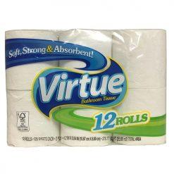 Virtue Bath Tissue 12pk Reg 225ct